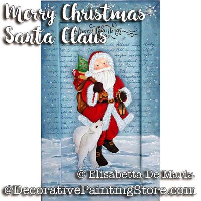 Merry Christmas Santa Claus e-Pattern - Elisabetta DeMaria - PDF DOWNLOAD