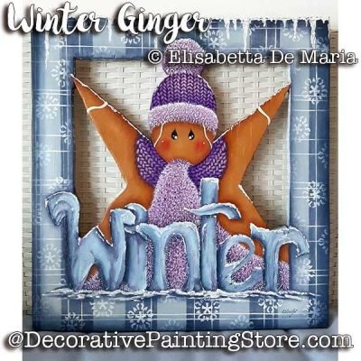 Winter Ginger e-Pattern - Elisabetta DeMaria - PDF DOWNLOAD