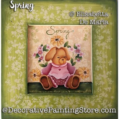 Spring e-Pattern - Elisabetta DeMaria - PDF DOWNLOAD