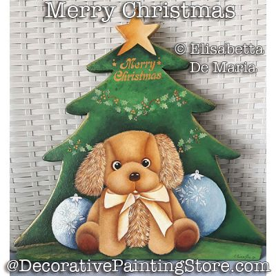 Merry Christmas e-Pattern - Elisabetta DeMaria - PDF DOWNLOAD