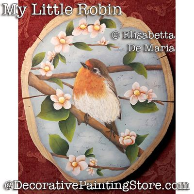My Little Robin e-Pattern - Elisabetta DeMaria - PDF DOWNLOAD