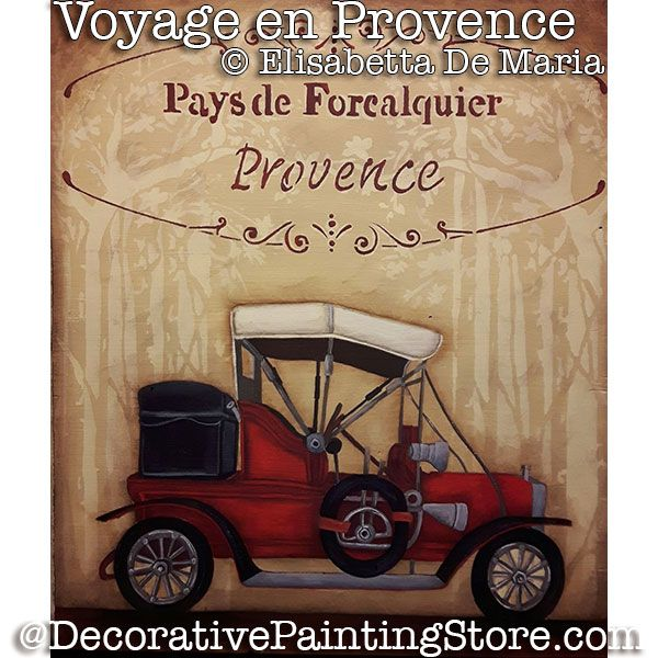 Voyage en Provence (Vintage Car) PDF DOWNLOAD - Elisabetta DeMaria