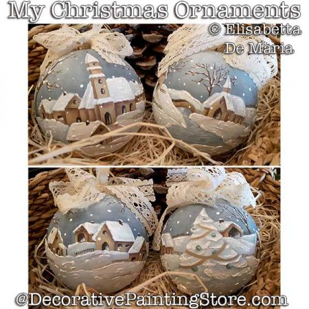 My Christmas Ornaments DOWNLOAD - Elisabetta DeMaria