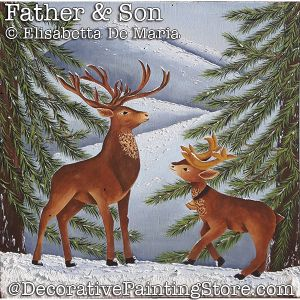 Father and Son (Reindeer) DOWNLOAD - Elisabetta DeMaria