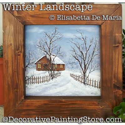 Winter Landscape DOWNLOAD - Elisabetta DeMaria
