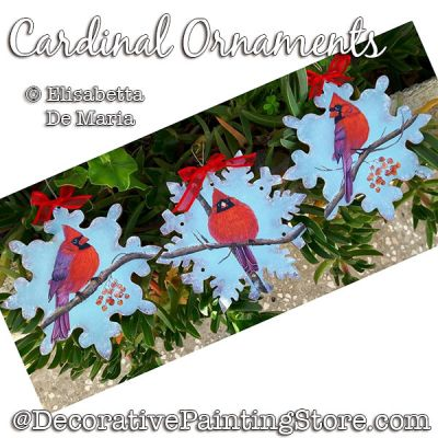 Cardinal Ornaments PDF DOWNLOAD - Elisabetta DeMaria