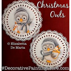 Christmas Owls PDF DOWNLOAD - Elisabetta DeMaria