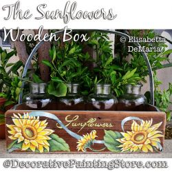 The Sunflowers Wooden Box PDF DOWNLOAD - Elisabetta DeMaria