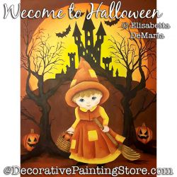 Welcome to Halloween Painting Pattern PDF DOWNLOAD - Elisabetta DeMaria