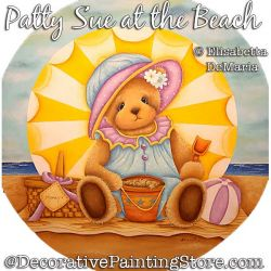 Patty Sue at the Beach (Teddy Bear) PDF DOWNLOAD - Elisabetta DeMaria