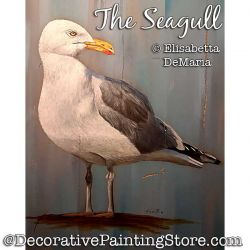 The Seagull Painting Pattern PDF DOWNLOAD - Elisabetta DeMaria