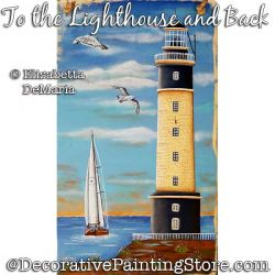 To the Lighthouse and Back Painting Pattern PDF DOWNLOAD - Elisabetta DeMaria