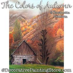 The Colors of Autumn Pastel Painting Pattern PDF DOWNLOAD - Elisabetta DeMaria