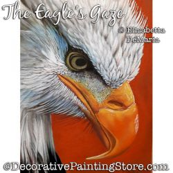 The Eagles Gaze Pastel Painting Pattern PDF DOWNLOAD - Elisabetta DeMaria