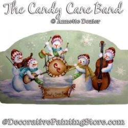 The Candy Cane Band PDF DOWNLOAD - Annette Dozier