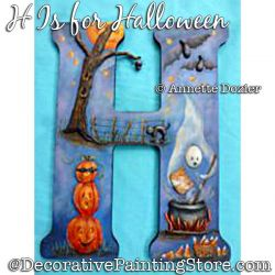 H Is for Halloween PDF DOWNLOAD - Annette Dozier
