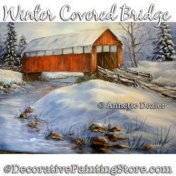 Winter Covered Bridge PDF DOWNLOAD - Annette Dozier