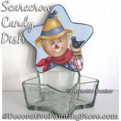 Scarecrow Candy Dish PDF DOWNLOAD - Annette Dozier