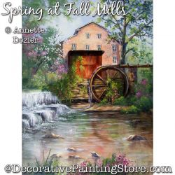 Spring at Fall Mills PDF DOWNLOAD - Annette Dozier