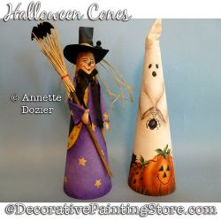 Halloween Cones PDF DOWNLOAD - Annette Dozier