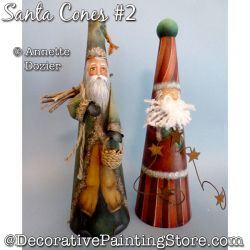 Santa Cones No. 2 PDF DOWNLOAD - Annette Dozier