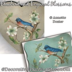 Bluebird and Dogwood Blossoms PDF DOWNLOAD - Annette Dozier