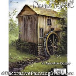 Davids Mill Painting Pattern PDF DOWNLOAD - Annette Dozier