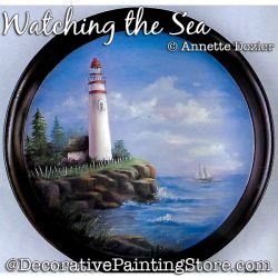 Watching the Sea Painting Pattern PDF DOWNLOAD - Annette Dozier