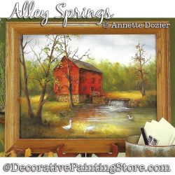 Alley Springs Painting Pattern PDF DOWNLOAD - Annette Dozier