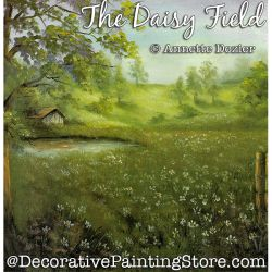 The Daisy Field Painting Pattern PDF DOWNLOAD - Annette Dozier