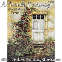 A French Doorway Painting Pattern PDF DOWNLOAD - Annette Dozier
