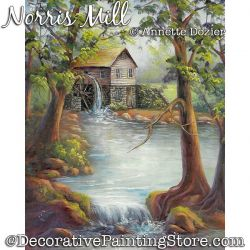 Norris Mill Painting Pattern PDF DOWNLOAD - Annette Dozier