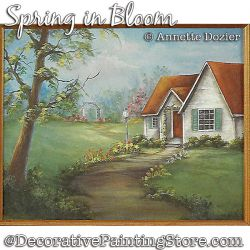 Spring in Bloom Painting Pattern PDF DOWNLOAD - Annette Dozier