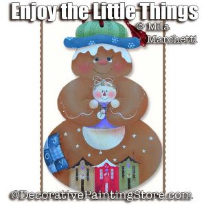 Enjoy the Little Things ePattern - Mila Marchetti - PDF DOWNLOAD