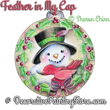 Feather in My Cap ePattern by Sharon Chinn - BY DOWNLOAD