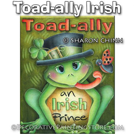 Toad-ally Irish ePattern by Sharon Chinn - BY DOWNLOAD
