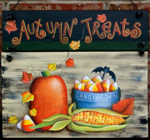 Autumn Treats Sign PDF Download - Sharon Chinn