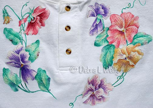 Pansy Henley Pattern DOWNLOAD