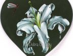 White Lily in Oils e-Pattern DOWNLOAD