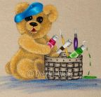 Bearly Painting on Fabric e-Pattern