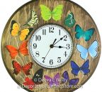 Butterfly Clock Pattern BY DOWNLOAD