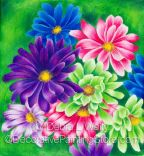 Birthday Daisies Pattern - Debra L Welty - BY DOWNLOAD