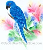 Blue Macaw Pattern - Debra L Welty - BY DOWNLOAD