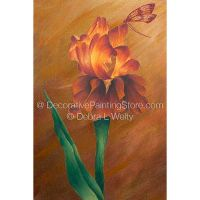 Sunset Iris Pattern - Debra L Welty - BY DOWNLOAD