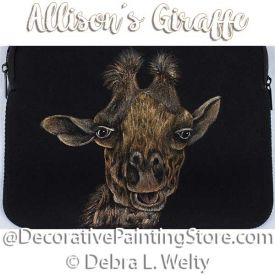 Allisons Giraffe e-Pattern - Debra Welty - PDF DOWNLOAD