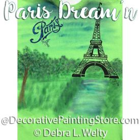 Paris Dream-n e-Pattern - Debra Welty - PDF DOWNLOAD
