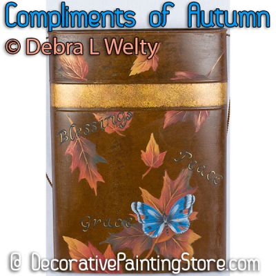 Compliments of Autumn e-Pattern - Debra Welty - PDF DOWNLOAD