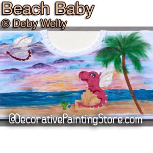Beach Baby e-Pattern - Debra Welty - PDF DOWNLOAD