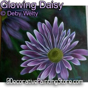 Glowing Daisy e-Pattern - Debra Welty - PDF DOWNLOAD