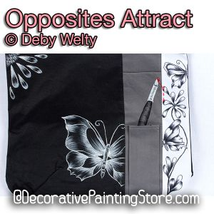 Opposites Attract e-Pattern - Debra Welty - PDF DOWNLOAD
